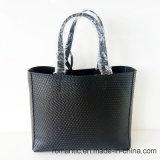 Marca Designer Women PU Embossed Handbags com Bag Set (NMDK-050203)