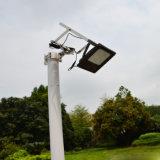 lumière extérieure d'horizontal de jardin de la lumière 3528 SMD 120 DEL de 15W DEL de panneau actionné d'inondation de lumière de détecteur solaire solaire de nuit