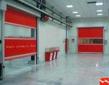 Porte rapide en aluminium de roulis de qualité de garantie (HF-118)