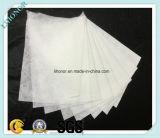 Blanc Nonwoven tissu filtrant (feutre aiguilleté)