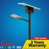 Luz de calle solar impermeable de Q235 poste LED
