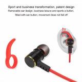 Draadloze Hoofdtelefoon met Mic het StereoLawaai die van de Sport het Lawaai annuleren die van de Hoofdtelefoons van de Oortelefoons van Earbuds van de Hoofdtelefoon Sweatproof, Ergonomisch Ontwerp annuleren