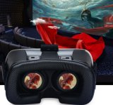 Della fabbrica vetri direttamente V2 Vr 3D 2.0 vetri del cartone 3D di Google di vetro della casella 3D di Vr di realtà virtuale per