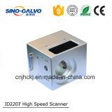 laser di Galvo dell'apertura Jd2207 di 12mm per i jeans con alta precisione