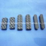 Dientes de la trituradora del carburo de tungsteno para la trituradora de quijada