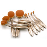 Heißestes Zahnbürste-Form-Verfassungs-Pinsel-Set-kosmetisches Pinsel-Set