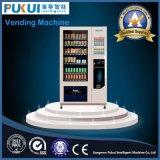 Máquinas de Vending de venda quentes da soda e do petisco do projeto da segurança para a venda