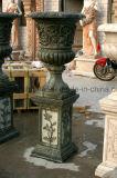 Piantatrice di marmo europea dei POT di fiore della piantatrice