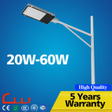 Iluminação de rua do diodo emissor de luz do poder superior 20W 30W 40W