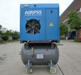 15kw de roterende Compressor van de Lucht van de Schroef met Tanks