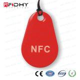 13.56 etiqueta elegante de la tarjeta dominante del megaciclo NFC para el pago