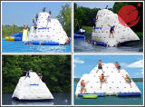 0.9mm PVC水ゲーム水おもちゃの膨脹可能なプールの氷山の浮遊物の膨脹可能な浮遊氷山(T12-002C)