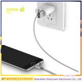 Кабель заряжателя данным по кабеля металла X-Кабеля Mini2 Wsken магнитный для iPhone/микро- USB
