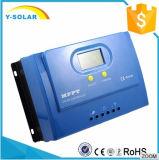 регулятор обязанности 50A 12V/24V солнечный для солнечной системы с LCD Ys-50A
