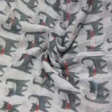 Шаль кота печатание милая малая, шарф вспомогательного оборудования способа девушок, шарф Plyester