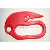 Seguridad de plástico Cortador de cinturón de seguridad de emergencia para la seguridad del automóvil