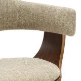 의자 (W13902)를 식사하는 직물 실내 장식품 Bentwood