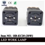 """Luz recargable del trabajo del Portable 10W LED del automóvil 2 del alimentador """" 12V LED"""