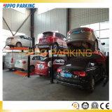 4 подъема стоянкы автомобилей автоматических гаража столба франтовских