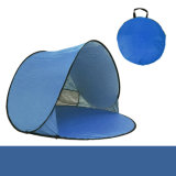 2 - die 3 Personen-Familien-kampierende das Falten knallen oben Zelt