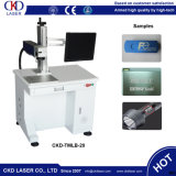 Máquina 30W de la marca del laser de la fibra de la calidad del oro sin tinta