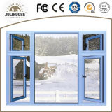 Niedrige Kosten-Aluminiumflügelfenster-Fenster