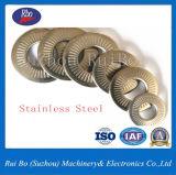 L'acier inoxydable Nfe25511 choisissent la rondelle plate latérale de rondelle à ressort de rondelle de freinage de dent