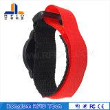Wristband portatile del nylon RFID per i pacchetti dell'aeroporto