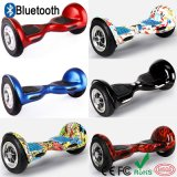 Дешевое Hoverbaord с колесом Bluetooth Hoverboard 2 самоката СИД франтовским