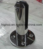 Piscina de cristal del acero inoxidable que cerca la espita con el borde redondo