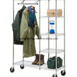 Adjustable Bedroom Closet Garment Rack/Metal Wardrobe Rack