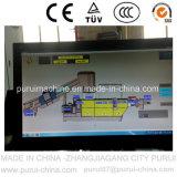 Überschüssiger PET Film aufbereitete Plastikgranulation-Maschine mit PLC-Touch Screen