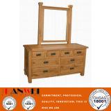 Eichen-Natur-Farben-hölzerner Möbel-Ankleidender Tisch mit Spiegel