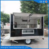 Carros móviles usados del alimento para la venta en China con Ce