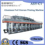 Machine d'impression à vitesse moyenne de rotogravure d'asy-c (papier d'aluminium, papier, impression, collant la machine)