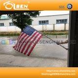 Flagpole esterno 5feet con la zoccolatura per visualizzazione