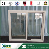Ventana y puerta modificadas para requisitos particulares de desplazamiento del PVC de la talla con Glassing doble