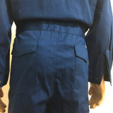 Coverall Workwear ткани Fr полиэфира хлопка антацидный функциональный защитный для стационара/индустрии