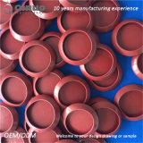 Montures supérieures de la couleur rouge EPDM de vente chaude