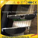 6063 grande extrusão T5 6061 T6 de alumínio feita sob encomenda para o dissipador de calor industrial
