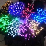 indicatore luminoso della stringa di energia solare 200LED di 22m per la decorazione