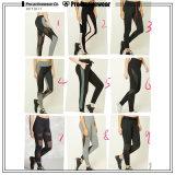 Pantaloni misura unici di vendita caldi di yoga con l'alta vita