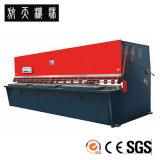 Machine de tonte hydraulique, machine de découpage en acier, machine de tonte QC12k-8*3200 de commande numérique par ordinateur