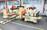 Alimentador automático da folha da bobina com Straightener e uso de Uncoiler na máquina da imprensa