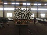 cámara de acero galvanizada los 6m poste