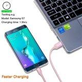 Maschio ad alta velocità del USB intrecciato nylon super del cavo della carica del USB al micro cavo di dati & della carica di sincronizzazione di B per la galassia Android S7, S6, PS4, HTC, LG, SONY, Blac di Samsung