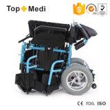 Topmedi повышая кресло-коляску удобоподвижности электричества горячего сбывания складную