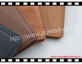 Oberster echtes Leder-kundenspezifischer Kreditkarte-Halter mit verrücktem Pferden-Leder