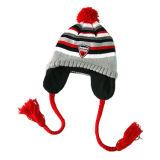 Earflag 모자 (JRK115)를 뜨개질을 해 소녀