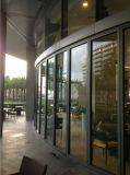 Arc-Shaped Glastrennwand für Hotel